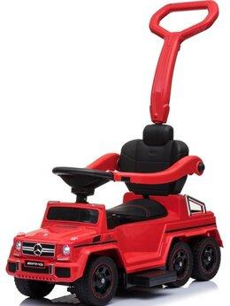 Электромобили - Каталка Mercedes-Benz G63 AMG 6x6 - Red - SXZ1838, 0