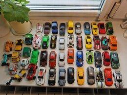 Машинки и техника - Машинки 49 шт. (коробка) - Hot Wheels и др. , 0