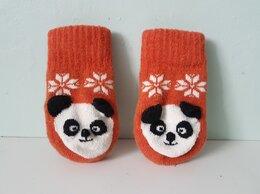 Царапки и варежки - Детские варежки Панда, 0