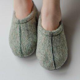 Одежда и обувь - Туфли комнатные Тишка цвет зеленый размеры с 27 по 34 арт.D.7.46 (33-34), 0