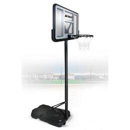 Стойки и кольца - Баскетбольная стойка Standart 020 (высота 230-305 см, р-р. щита 111x75x4,5 см..., 0