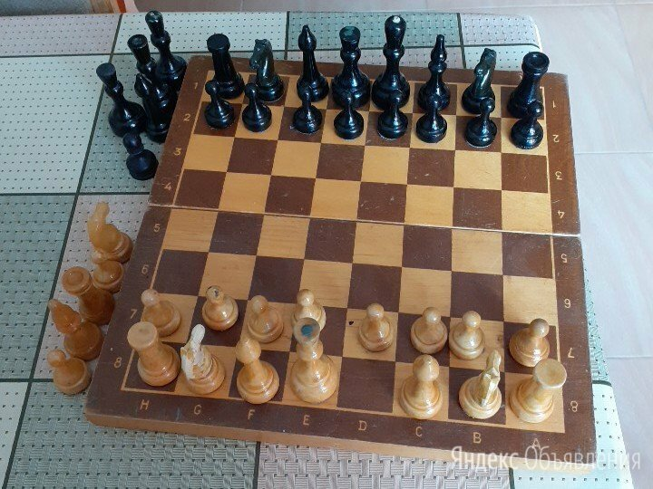 Шахматы советские с зап.частями по цене 500₽ - Настольные игры, фото 0
