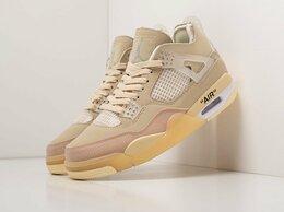 Кроссовки и кеды - Кроссовки Nike x OFF White Air Jordan 4 Retro, 0