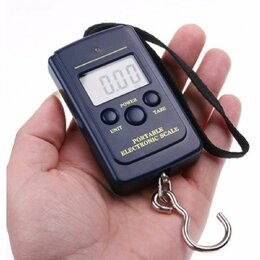 Безмены - Весы электронные безмен ручной цифровой до 40 кг, 0