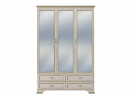 Шкафы, стенки, гарнитуры - Шкаф Сиена 3-х дверный (3 зеркальных фасада), 0