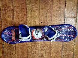 Сноуборды - Сноуборд детский пластиковый, 0