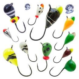 Грузила, крючки, джиг-головки - Мормышки для зимней рыбалки, 0