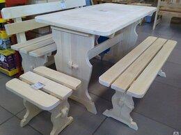 Столы и столики - Мебель деревянная для бани и дома осина, хвоя…, 0