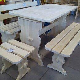 Столы и столики - Мебель деревянная для бани и дома осина, хвоя массив, 0