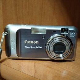 Фотоаппараты - Фотоаппарат canon A450, 0