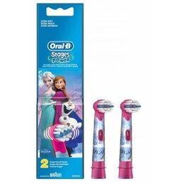 Электрические зубные щетки - Насадка для детской зубн/щ. Braun Oral-B EB10K Frozen Kids 2 шт, 0