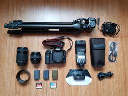 Фотоаппараты - Набор фотографа (фотоаппарат, объективы, вспышка), 0