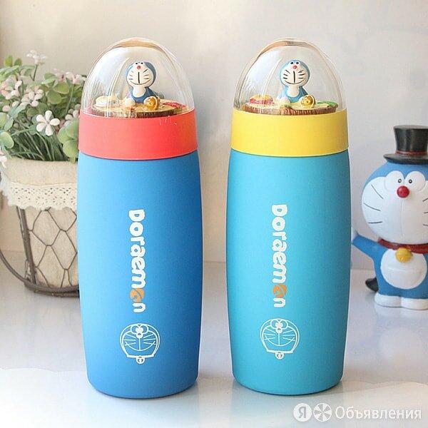 Нинбо Термос Doraemon с игрушкой 350 мл по цене 350₽ - Термосы и термокружки, фото 0