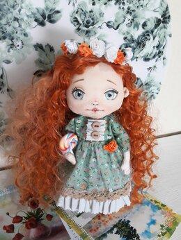 Куклы и пупсы - Интерьерная кукла: Солнечная девочка, 0