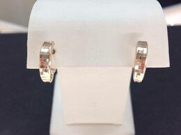 Серьги - Золотые серьги • Женские Без камней, пр. 585°, 0
