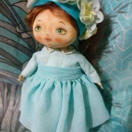 Рукоделие, поделки и сопутствующие товары - Текстильная кукла ручной работы, 0