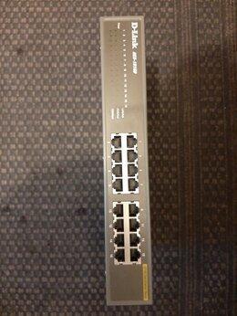 Проводные роутеры и коммутаторы - Коммутатор D-Link des 1016d , 0