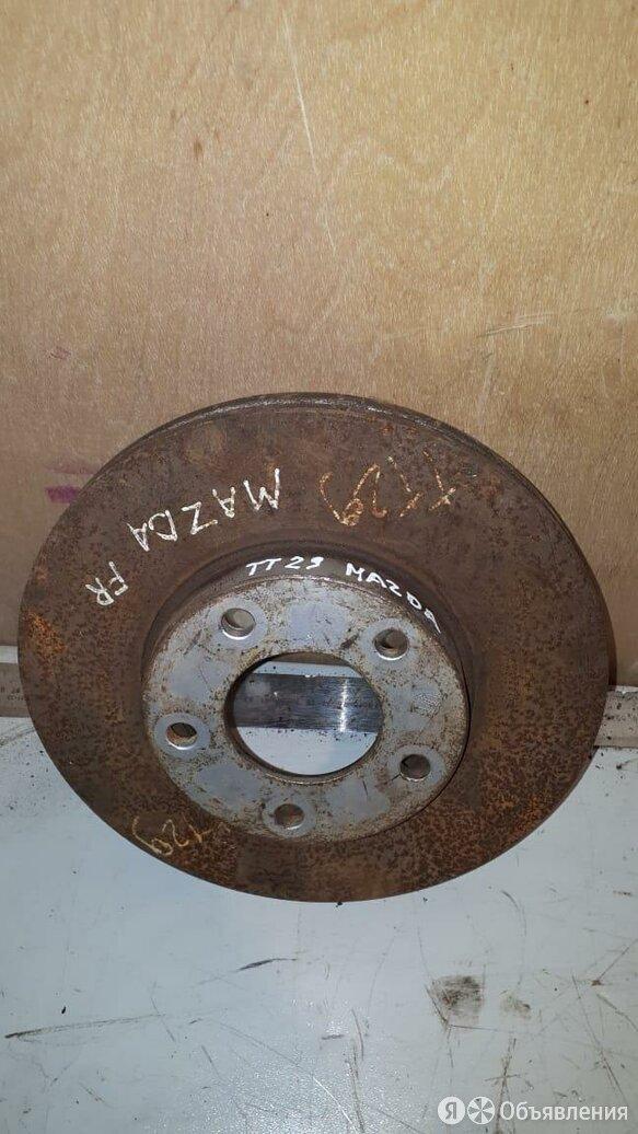 Диск тормозной передний Мазда 3 BK БК 5 CR,5 (2)  по цене 500₽ - Тормозная система , фото 0