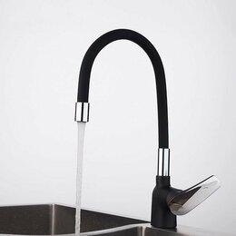 Смесители - Смеситель для кухни с гибким изливом Frap F4453-04, 0