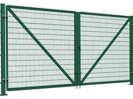 Заборы и ворота - Ворота распашные 2000*4000 м стандарт (2 столба…, 0