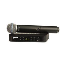 Радиосистемы и радиомикрофоны - SHURE BLX24E/B58 M17 радиосистема вокальная с…, 0