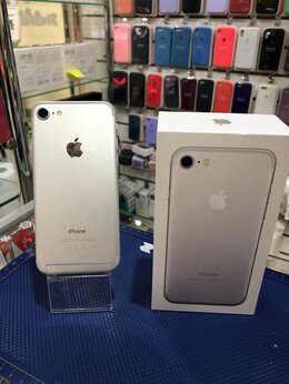 Мобильные телефоны - iPhone 7 128GB Silver б/у, 0