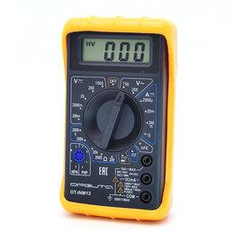 Измерительные инструменты и приборы - Мультиметр цифровой с прозвонкой ОРБИТА OT-INM13…, 0