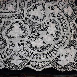 Скатерти и салфетки - Скатерть, венецианское кружево, винтаж, 160х250, 0