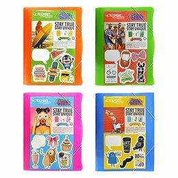 Конверты и почтовые карточки - Папка-конверт на резинке А4 Expert Complete Neon Drive 0.6мм + стикеры 22167650 , 0
