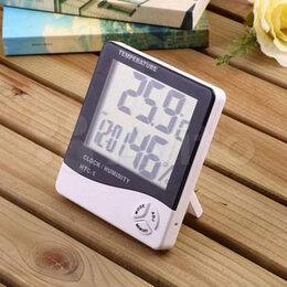 Метеостанции, термометры, барометры - Гигрометр, Термометр и Часы 3в1, 0
