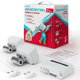 Оборудование для аквариумов и террариумов - Neptun Aquacontrol 1/2 система защиты от потопа, 0