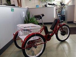 """Мототехника и электровелосипеды - Велосипед трехколесный электро 350W Ok-3WE 20"""" 6…, 0"""