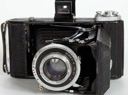 Пленочные фотоаппараты - Фотоаппарат Москва-1, 6х9 см (1948 г.), 0
