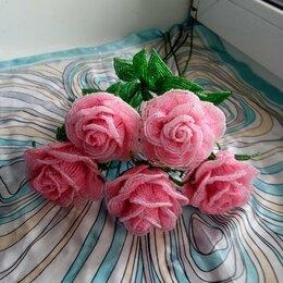 Цветы, букеты, композиции - розы из бисера, 0
