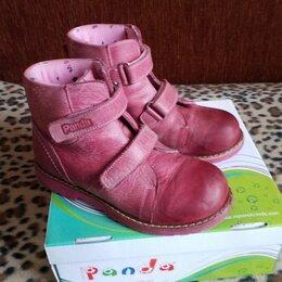Ботинки - Демисезон ботинки кожа M. Panda ortopedic р. 30 -20 см Турция, 0