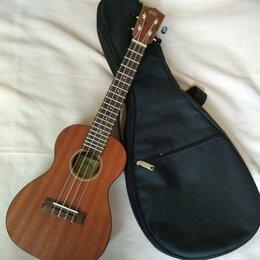 Укулеле - Гитара укулеле концертная с чехлом, 0