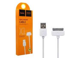 Зарядные устройства и адаптеры - Кабель для зарядки Hoco X1 iPhone 4, 4s, iPad,…, 0