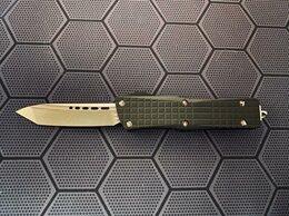 Ножи и мультитулы - Нож Microtech Troodon MK 2 Delta tanto stonewash, 0