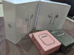 Наушники и Bluetooth-гарнитуры - Наушники Apple Airpods 2 , 0