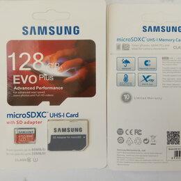 Карты памяти - Карта памяти Samsung evo + 128 gb 80bc , 0