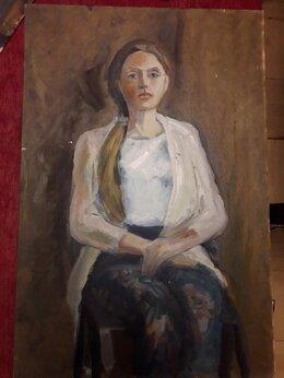 Рисование - Учебные портреты с руками холст масло 40-60 см, 0