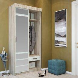 Шкафы, стенки, гарнитуры - Прихожая-купе Смарт-3  кантри прованс 100 см, 0