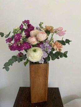 Вазы - Ваза для цветов и сухоцветов (кашпо) ручной…, 0