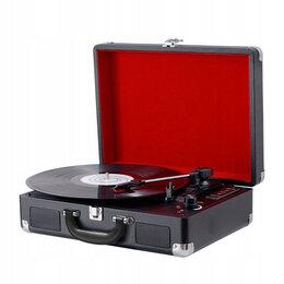 Проигрыватели виниловых дисков - Проигрыватель пластинок чемодан-грамофон Bluetooth, 0