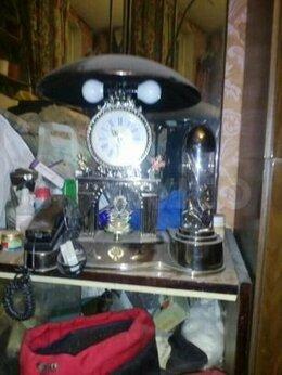 Часы настольные и каминные - Часы+телефон+лампа+мини аквариум, 0