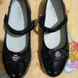 Балетки, туфли - Новые туфли для школы, 0