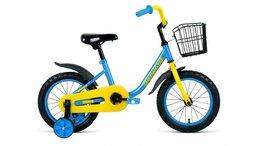 Велосипеды - Детский велосипед Barrio 14 синий (2020), 0