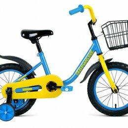 Трехколесные велосипеды - Детский велосипед Barrio 14 синий (2020), 0