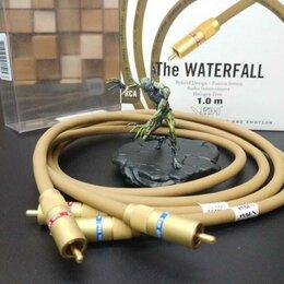 Кабели и разъемы - Кабель RCA Van den Hul The Waterfall, 1.0 м, пара, 0