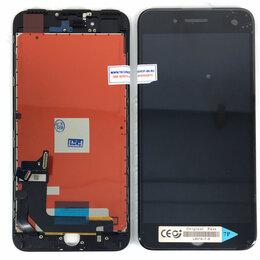 Дисплеи и тачскрины - Дисплей для Apple iPhone 7 Plus черный,аналог, 0